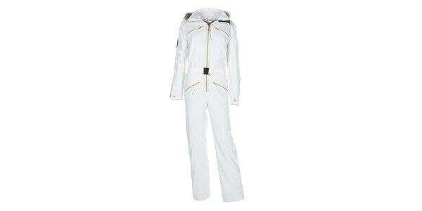 Dámská bílá lyžařská kombinéza E2ko