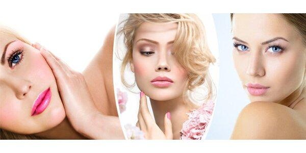 Liftingové ošetření obličeje a dekoltu s přístrojovou vacu masáží a kyselinou…