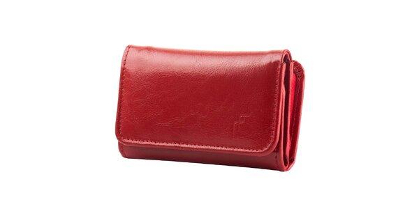 Dámská červená peněženka Felice - kožená