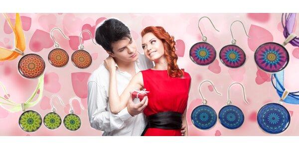 Darujte na Valentýna soupravu náhrdelníku a náušnic s Magickými mandalami