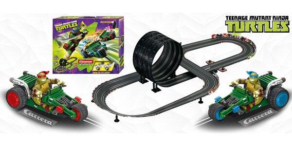 Autodráha Carrera s Želvami Ninja