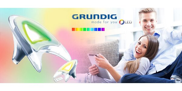 Barevná LED lampa Grundig Comfort Colours