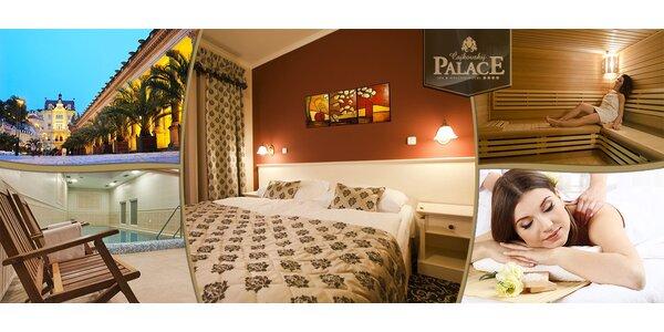 Odpočinek pro dva v luxusním hotelu v Karlových Varech