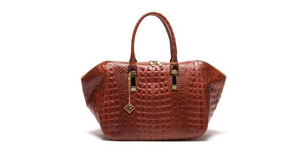 Dámská kabelka s plastickým vzorem Isabella Rhea