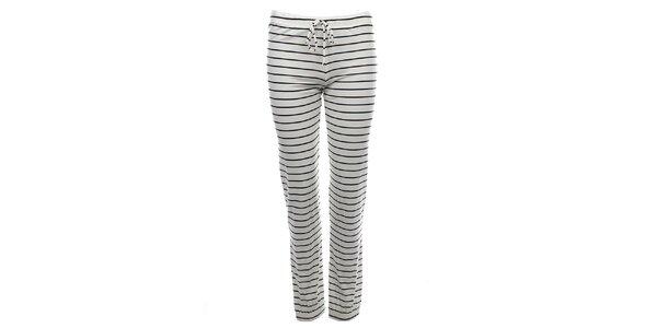 Dámské pruhované pyžamové kalhoty Tommy Hilfiger