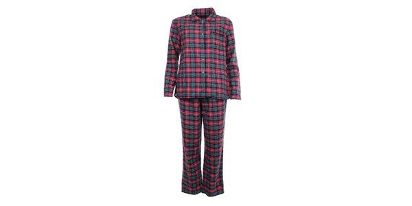 Dámské kostkované pyžamo Tommy Hilfiger