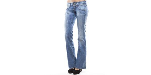 Dámské světle modré džíny do zvonu Tommy Hilfiger