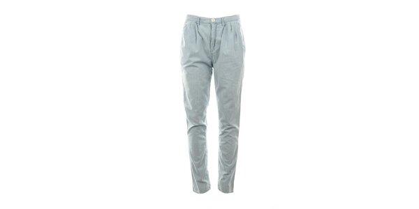 Dámské světle modré chino kalhoty Tommy Hilfiger