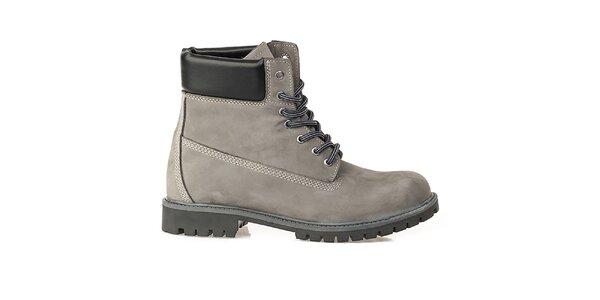 Pánské šedé farmářky Crash Shoes