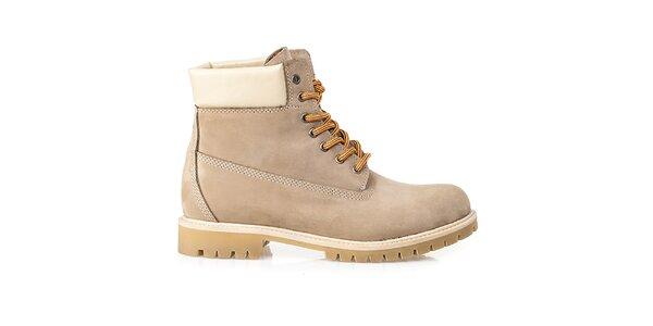Pánské béžové farmářky Crash Shoes