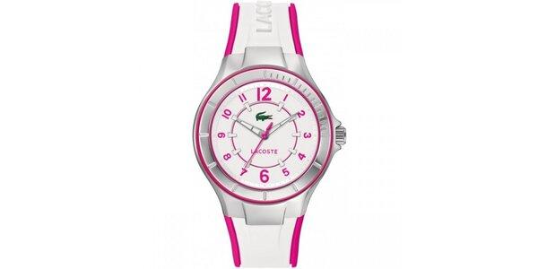Dámské hodinky Lacoste Acapulco bílo-růžové