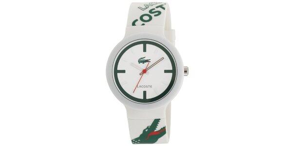 Pánské hodinky Lacoste Goa bílo-červené