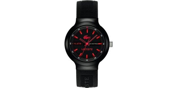 Pánské hodinky Lacoste Borneo černo-červené