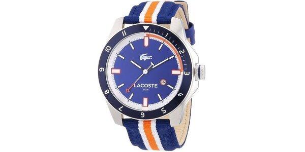 Pánské hodinky Lacoste Durban modré s proužkem