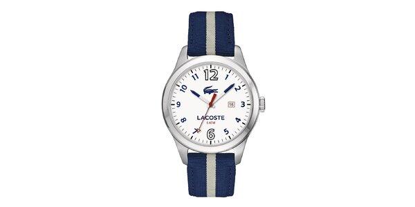 Pánské hodinky Lacoste Auckland modré s proužkem