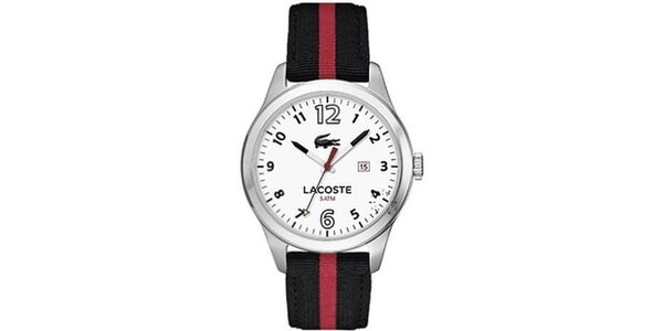 Pánské hodinky Lacoste Auckland černé s proužkem