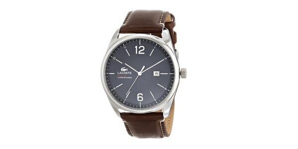 b1f988de0f5 Pánské hodinky Lacoste Austin hnědé