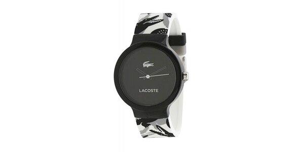 Unisex hodinky Lacoste Goa černo-bílé d400f9cf87