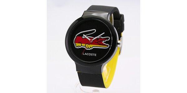 Unisex hodinky Lacoste Goa černé