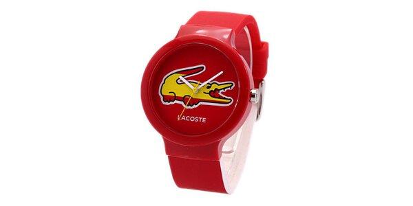 Unisex hodinky Lacoste Goa červené
