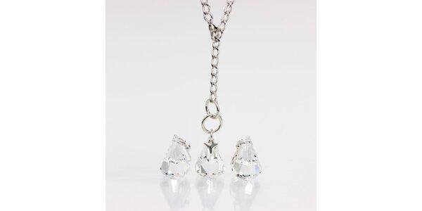 Dámský set šperků - náhrdelník a náušnice Laura Bruni