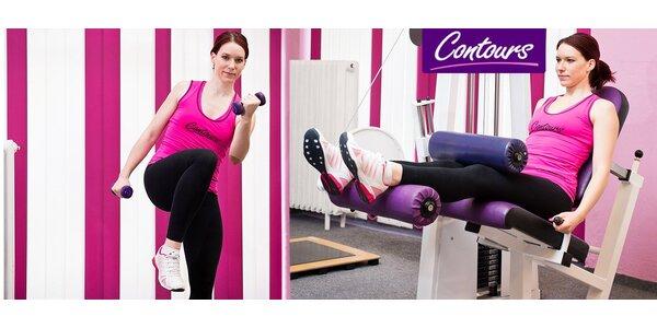14denní členství v novém fitness pro ženy Contours