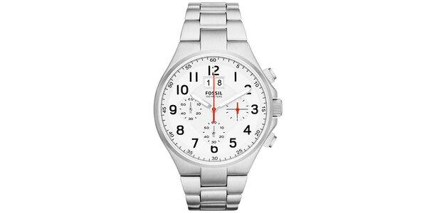 Pánské ocelové hodinky Fossil s chronografem