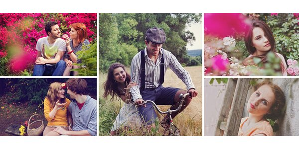 Dárek na Valentýna - poukázka na profesionální fotografování pro páry nebo…