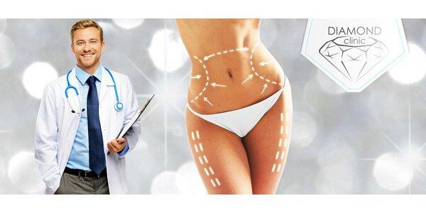 Mini invazivní liposukce 1-5 partií v Diamond Clinic