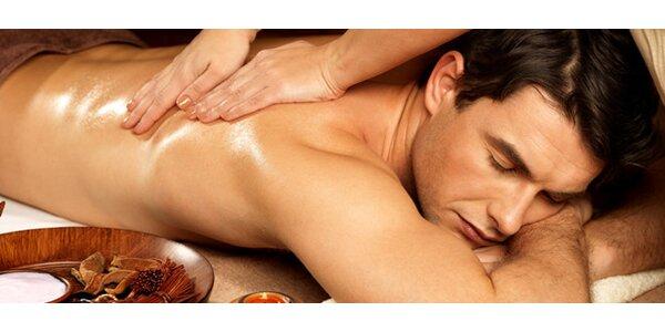 Relaxační masáž v délce 60 nebo 120 minut