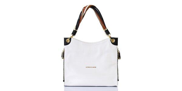 Dámská bílá kabelka s jedním poutkem Giorgio di Mare