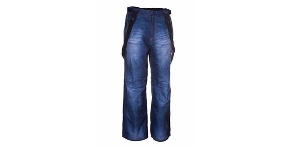 Pánské modré snowboardové kalhoty Envy