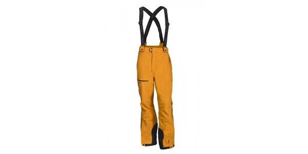 Pánské oranžové lyžařské kalhoty Envy
