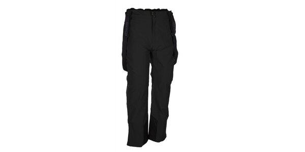 Pánské černé lyžařské kalhoty se šlemi Envy