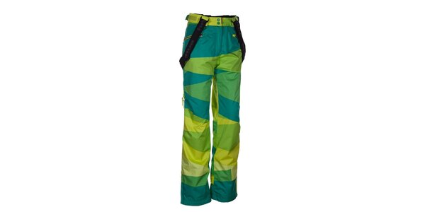 Dámské pestrobarevné snowboardové kalhoty Envy