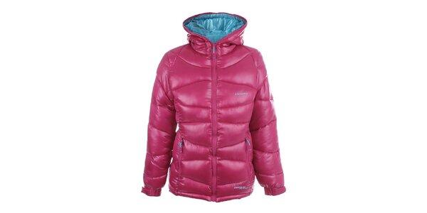 Dámská oboustranná růžovo-modrá bunda Envy