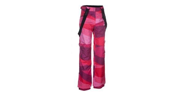 Dámské růžové snowboardové kalhoty Envy