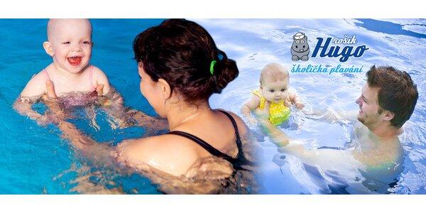 5 či 10 lekcí plavání pro děti ve slané vodě