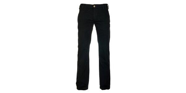 Pánské černé chino kalhoty Freesoul