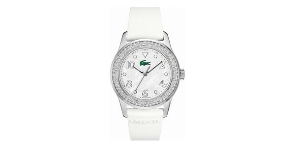 Dámské hodinky s krystalky Lacoste