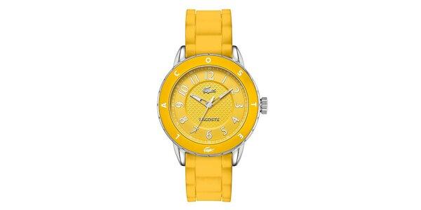 Dámské žluté hodinky Lacoste