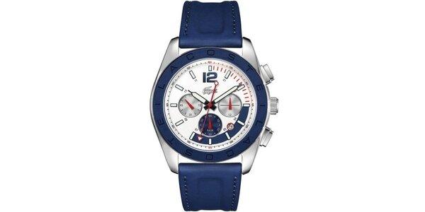Pánské modré analogové hodinky Lacoste