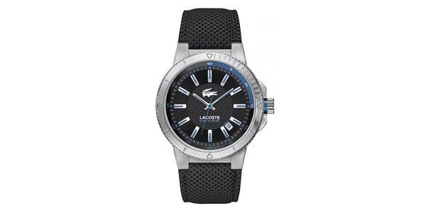 Pánské analogové hodinky s modrými prvky Lacoste