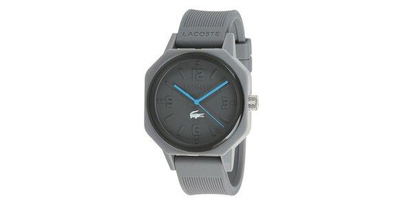 Dámské šedé hodinky Lacoste