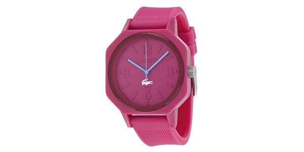 Dámské růžové hodinky Lacoste