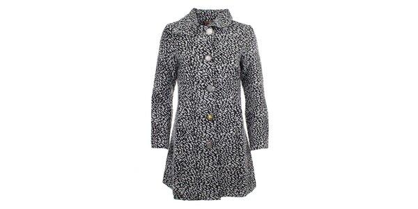 Dámský černobílý kabátek Dislay DY Design