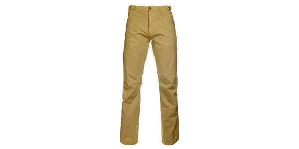 Pánské béžové kalhoty Freesoul
