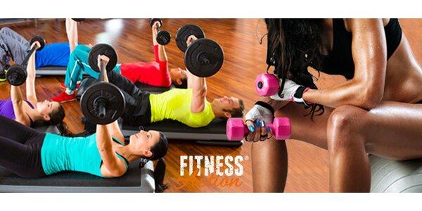 Měsíční vstup do FitnessAction na všechny lekce