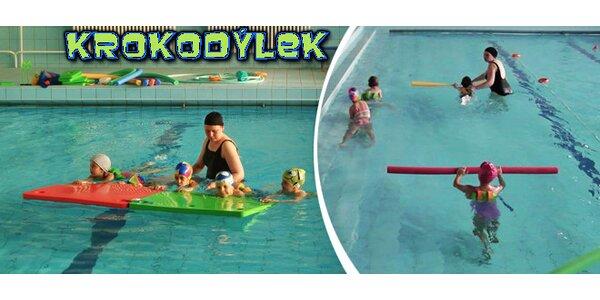 Plavání dětí od 3 do 10 let v Prostějově - 3 zkušební lekce