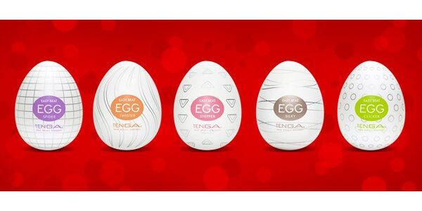 Erotický pomocník Tenga Egg v diskrétním balení